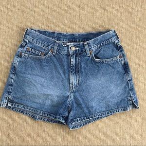 """Lucky Brand Denim Shorts Size 8 29""""High Waist"""